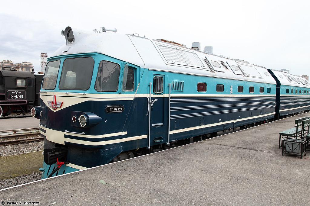 Грузопассажирский тепловоз ТГ102-153/169 (TG102-153/169 diesel locomotive)
