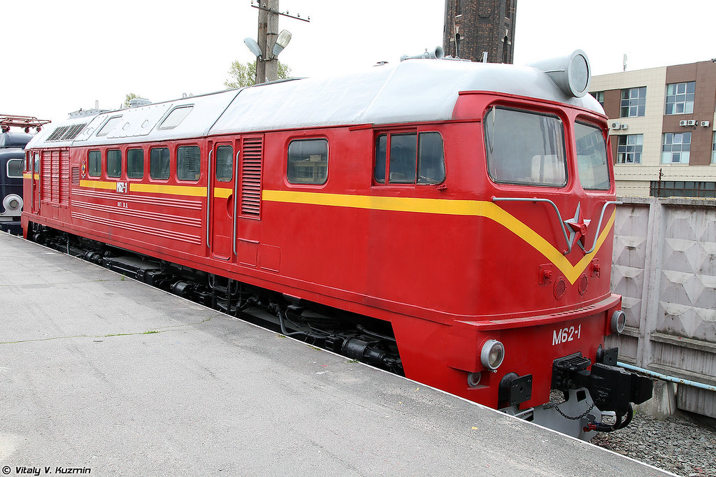 Грузовой тепловоз М62-1 (M62-1 diesel locomotive)
