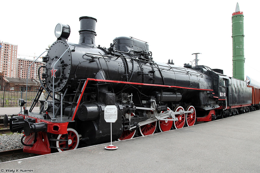 Грузовой паровоз ФД 20-1103 (PhD 20-1103 steam locomotive)
