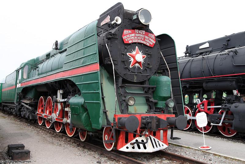 Пассажирский паровоз П36-0251 (P36-0251 steam locomotive)