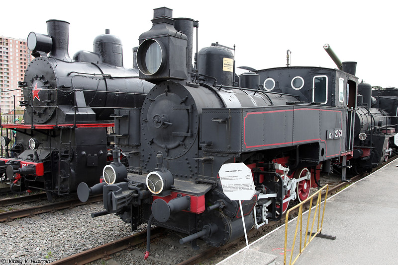 Танк-паровоз Ь 2023 (Ь 2023 steam locomotive)