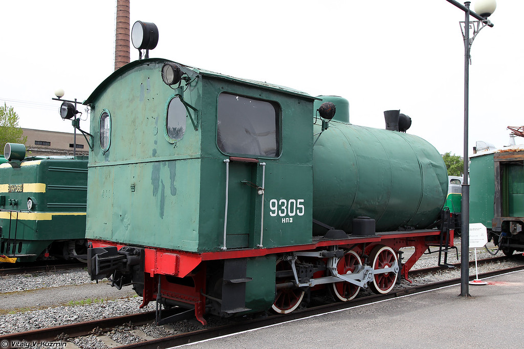 Промышленный бестопочный паровоз №9305 (No9305 steam locomotive)