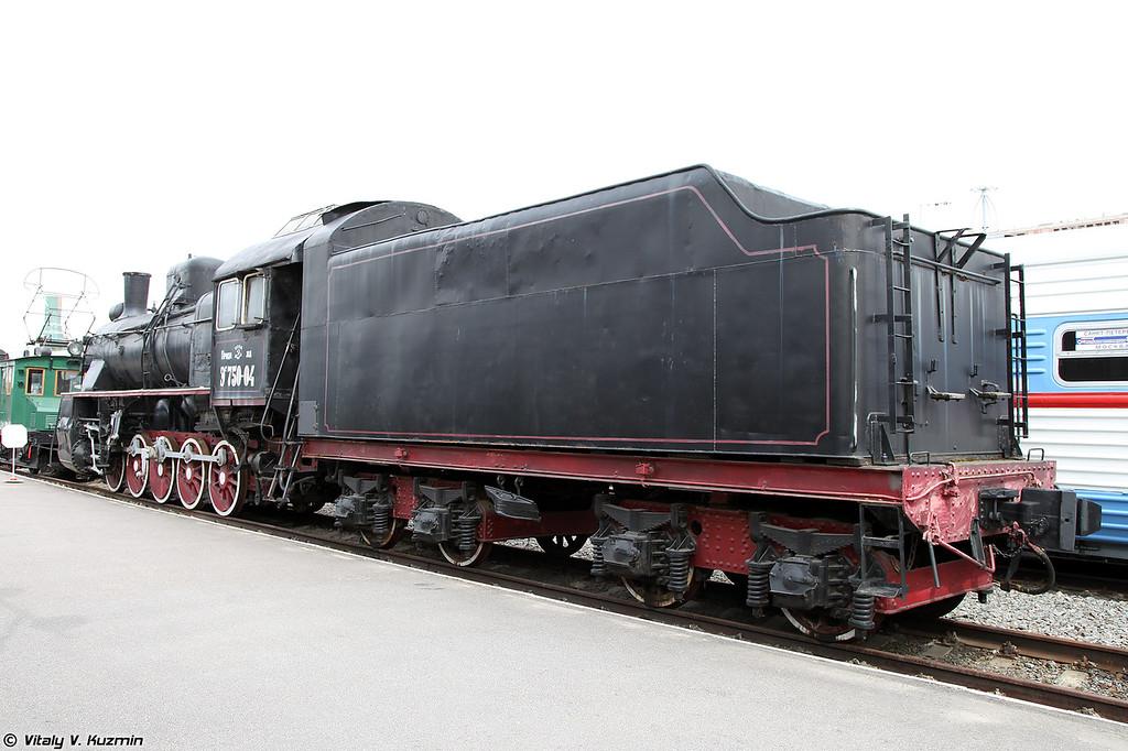 Грузовой паровоз ЭР 750-04 (ER 750-04 steam locomotive)
