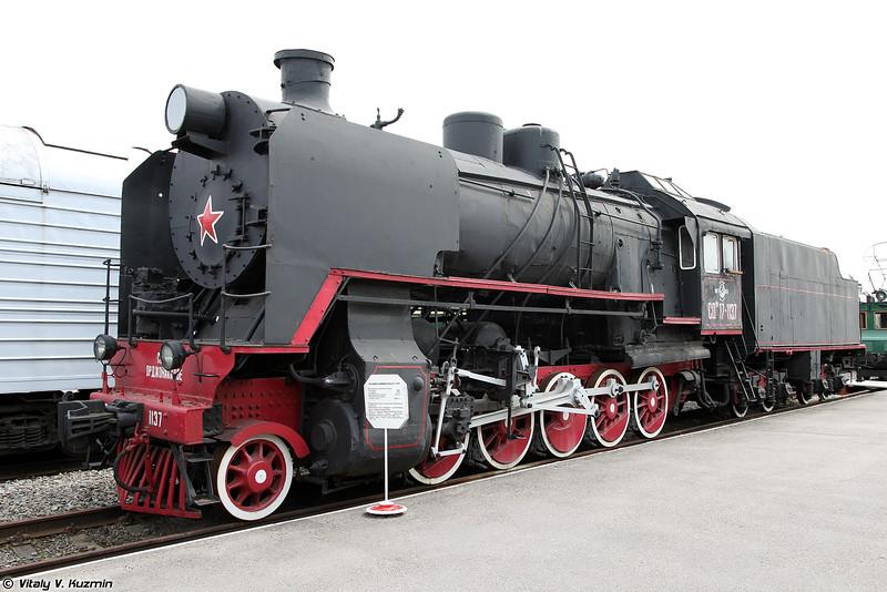 Грузовой паровоз СОм17-1137 (SOm17-1137 steam locomotive)