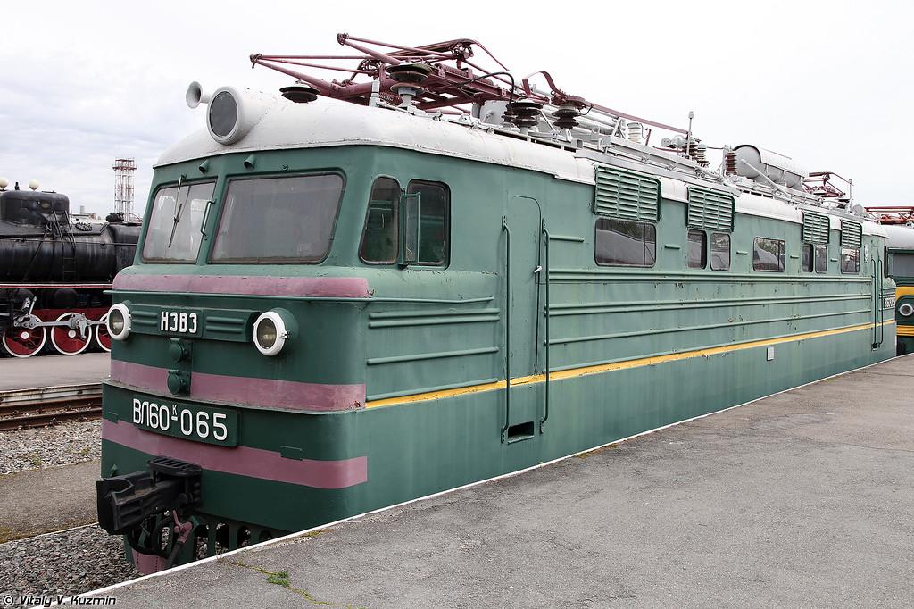 Грузовой электровоз ВЛ60К-065 (VL60K-065 electric locomotive)