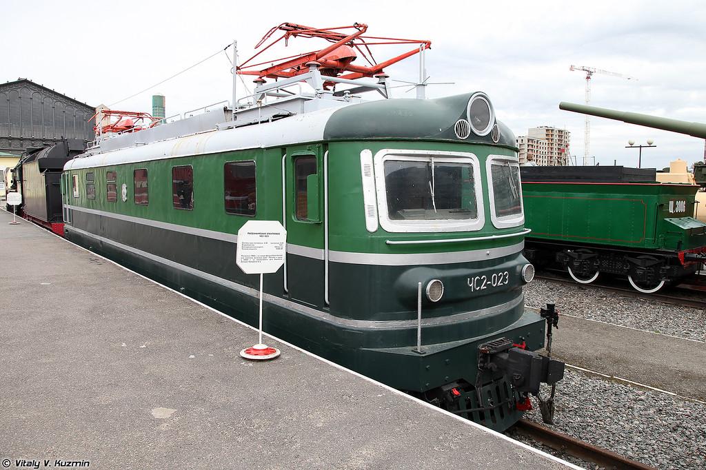 Пассажирский электровоз ЧС2-023 (ChS2-023 electric locomotive)