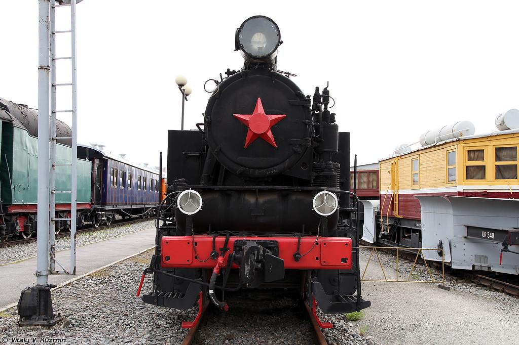 Промышленный паровоз 9П-15387 (9P-15387 steam locomotive)