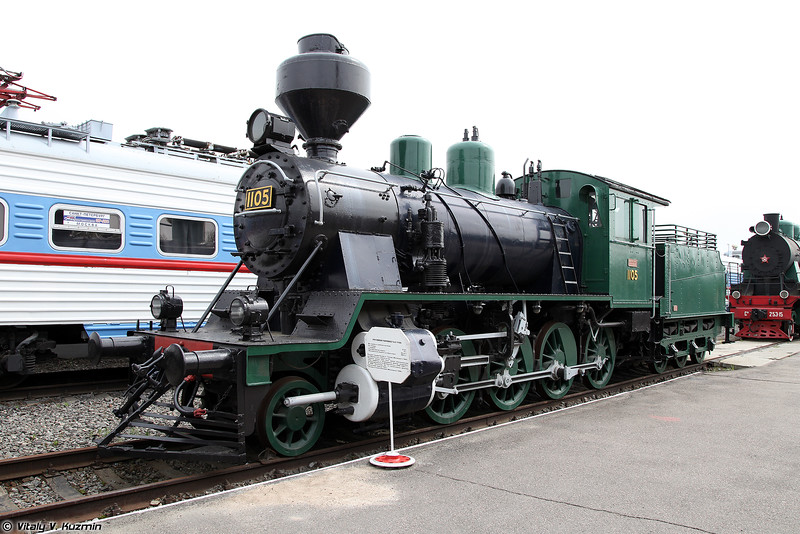 Грузовой паровоз Тк3-1105 (Tk3-1105 steam locomotive)