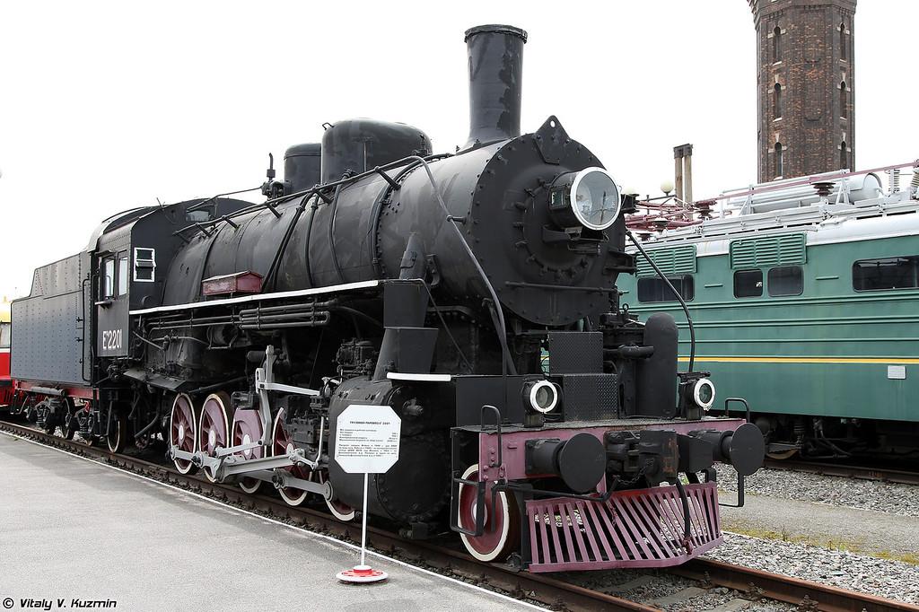 Грузовой паровоз ЕА 2201 (EA 2201 steam locomotive)