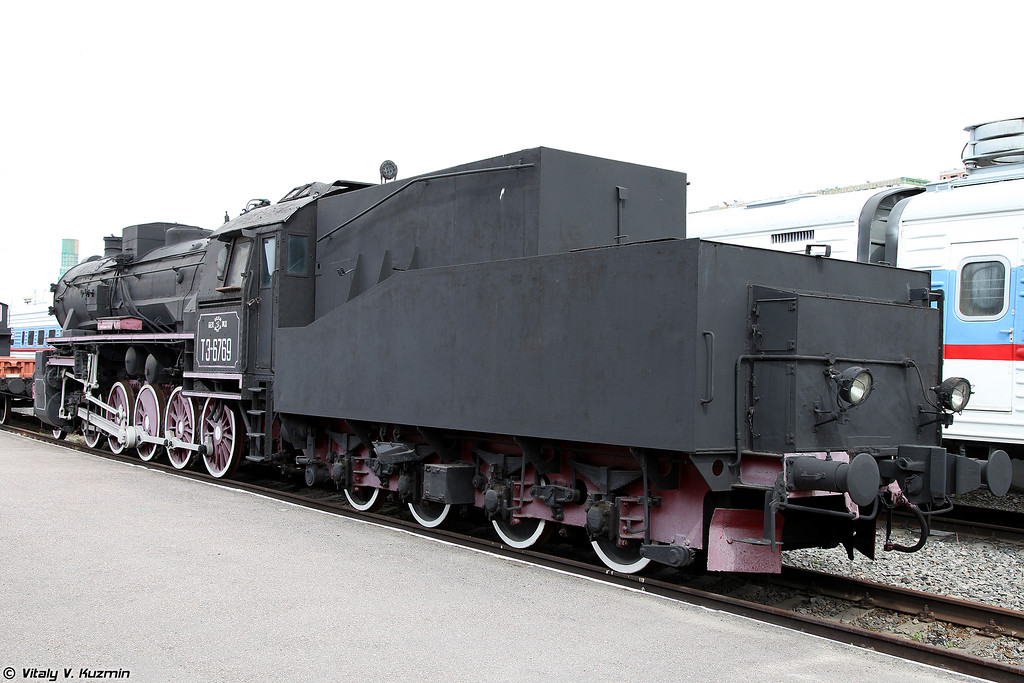 Грузовой паровоз ТЭ 6769 (TE 6769 steam locomotive)