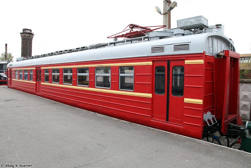 Моторный головной вагон электропоезда ЭР10-206 (ER10-206 electric locomotive)