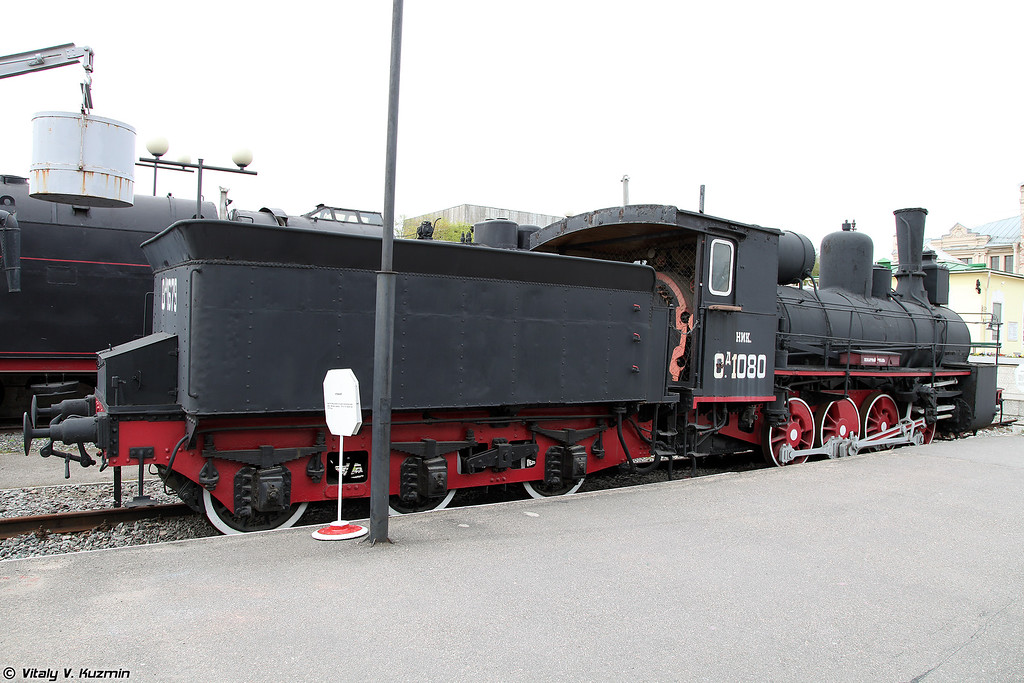 Товарный паровоз ОД 1080 (OD 1080 steam locomotive)