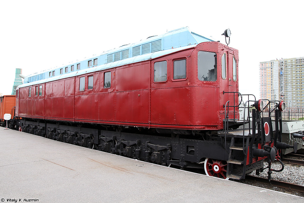 Опытный тепловоз системы Я.М. Гаккеля Гэ1 (Prototype of diesel locomotive Ge1)
