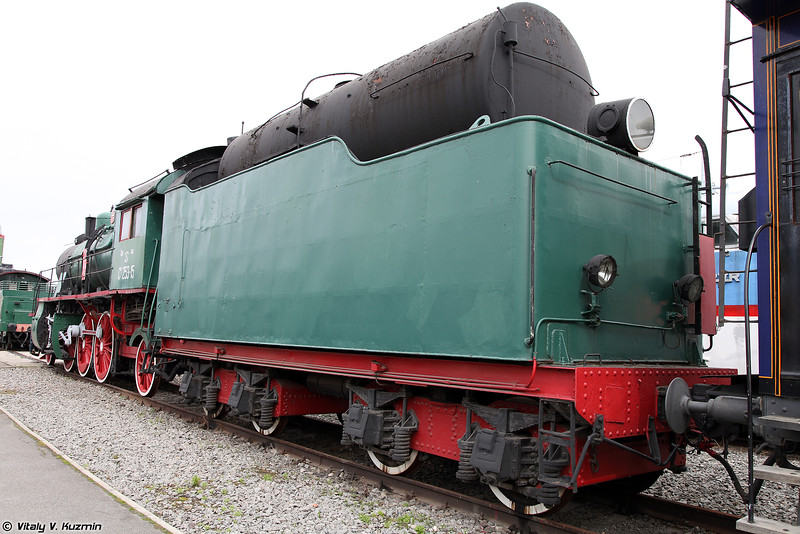 Пассажирский паровоз СУ 253-15 (SU 253-15 steam locomotive)