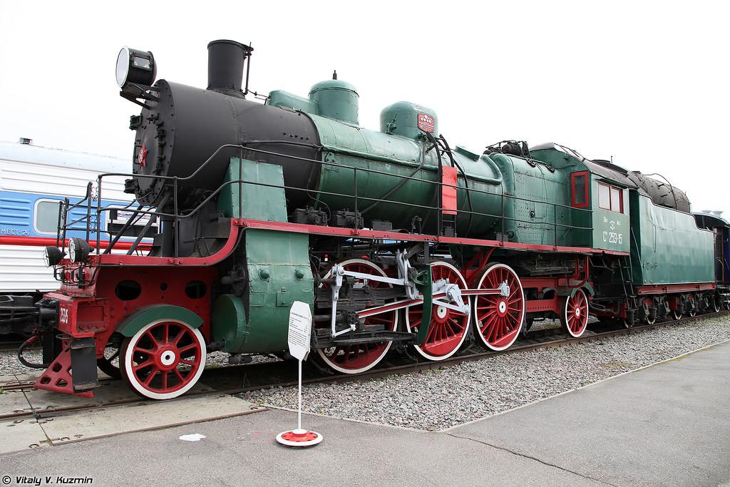 Пассажирский паровоз СУ 253-15 (SU 253-15 steam locomotive)