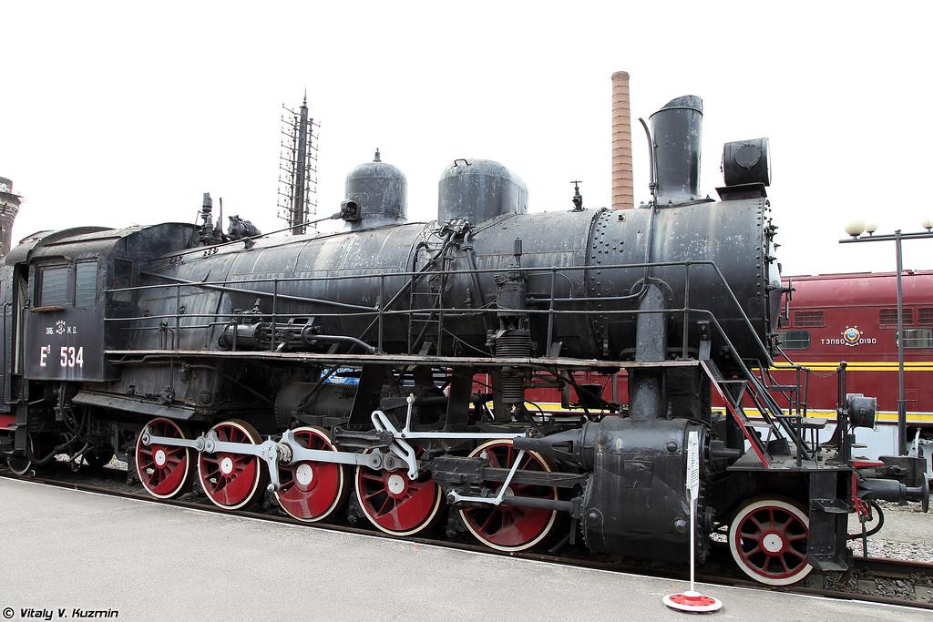 Товарный паровоз Ел 534 (El 534 steam locomotive)