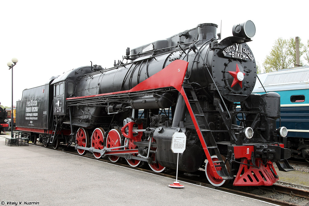 Грузовой паровоз Л 2298 (L 2298 steam locomotive)