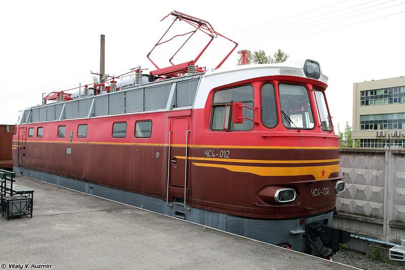 Пассажирский электровоз ЧС4-012 (ChS4-012 electric locomotive)