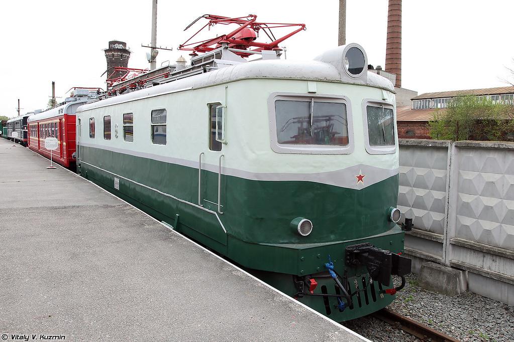 Пассажирский электровоз ЧС1-041 (ChS1-041 electric locomotive)