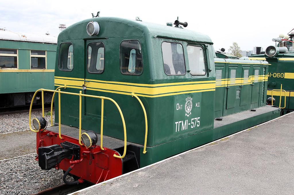 Промышленный тепловоз ТГМ1-575 (TGM1-575 diesel locomotive)