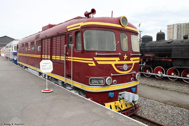 Пассажирский тепловоз ТЭП60-0190 (TEP60-0190 diesel locomotive)
