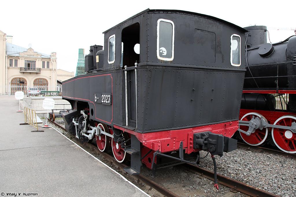 Танк-паровоз Ь 2023 (Ь 2023 steam locomotive)