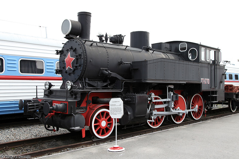 Танк-паровоз ТТ-1770 (TT-1770 steam locomotive)