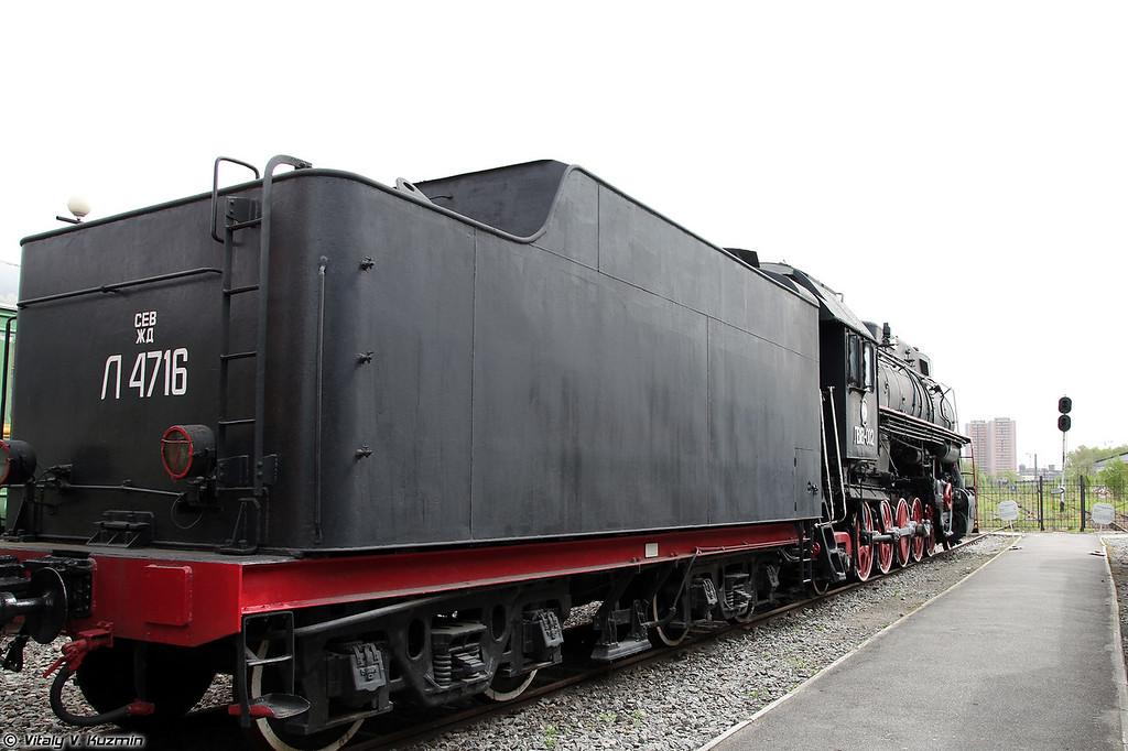 Грузовой паровоз ЛВ18-002 (LV18-002 steam locomotive)