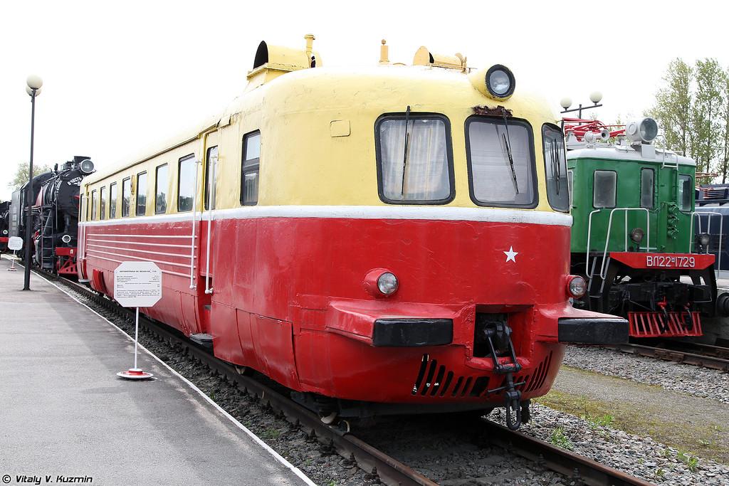 Автомотриса четырехосная АВам/мот758 (AVam/mot758 electric locomotive)