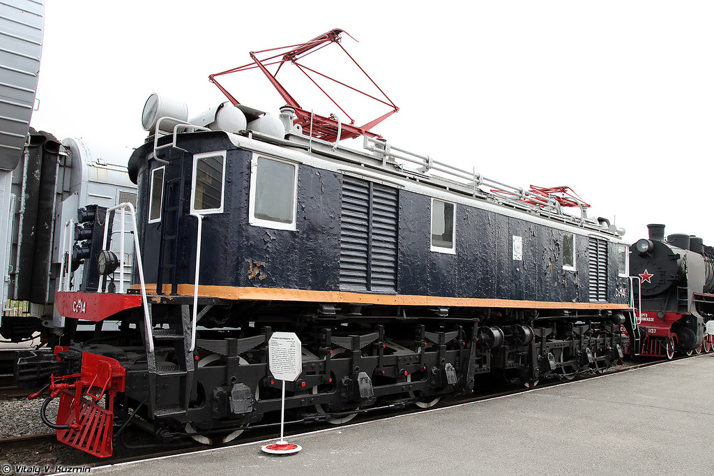 Грузовой электровоз Ссм-14 (Ssm-14 electric locomotive)