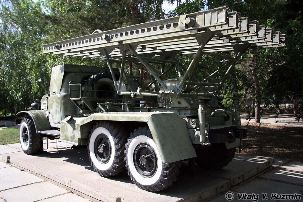 БМ-13 (BM-13 MLRS)