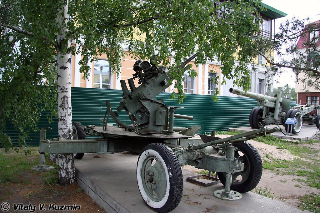 37-мм зенитное орудие 61К (37-mm 61K AA-gun)