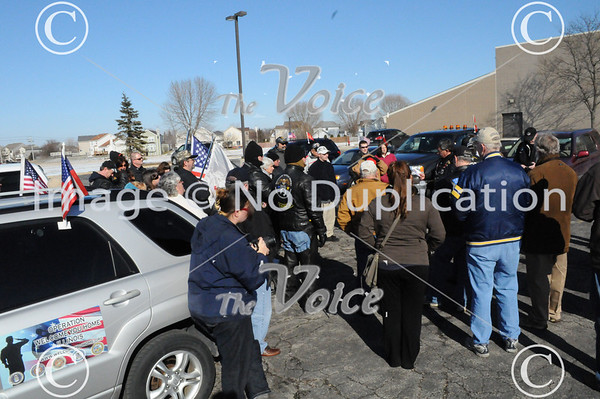 Operation Welcome You Home for Army Soldier James Hackemer in Aurora, IL 2-25-12