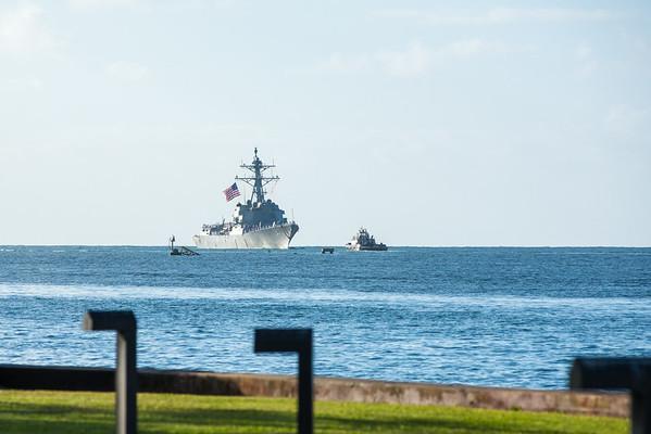 USS Halsey Homecoming