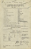 World War One service record of Otto Feick - particulars of recruit