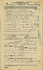 World War One service record of Otto Feick - medical history sheet
