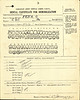 World War One service record of Otto Feick - dental certificate for demobilization