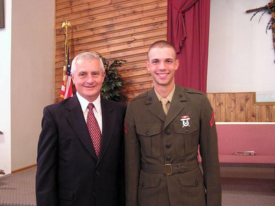 PASTOR LEONARD AND DAN! OCTOBER 2005