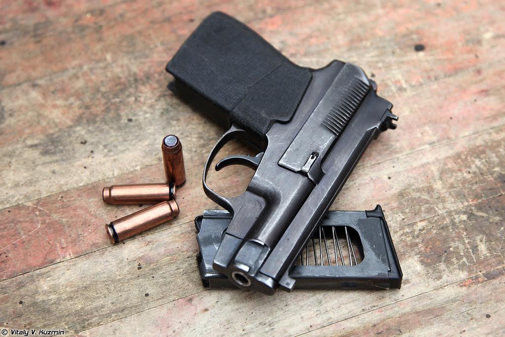Пистолет самозарядный специальный ПСС и патроны СП-4 (PSS silent pistol and SP-4 rounds)