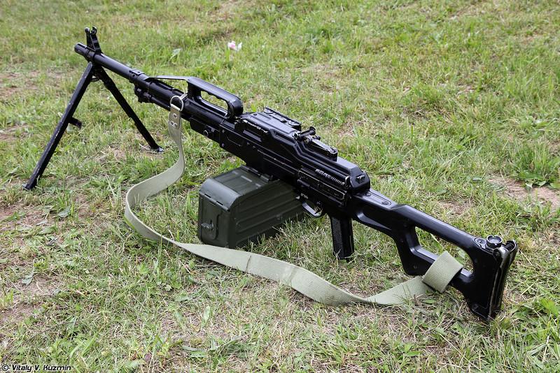 Пулемет ПКП Печенег (PKP Pecheneg machine gun)