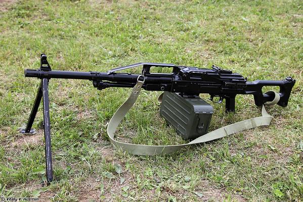 PKP Pecheneg and NSVS-12,7 machine guns