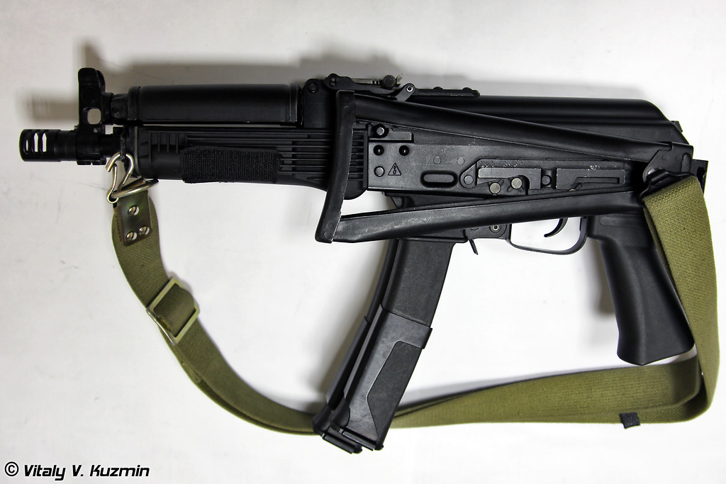 9х19 пистолет-пулемет ПП-19-01 Витязь-СН (9x19mm submachine gun PP-19-01 Vityaz-SN)