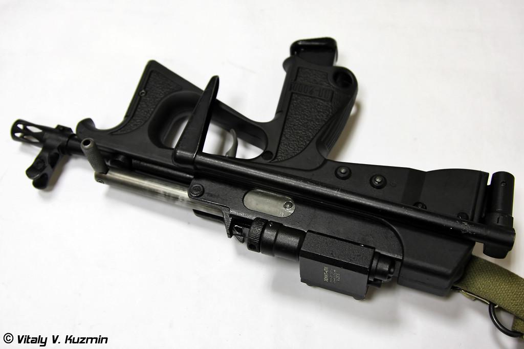 9х19-мм пистолет-пулемет ПП-2000 (9x19mm submachine gun PP-2000)