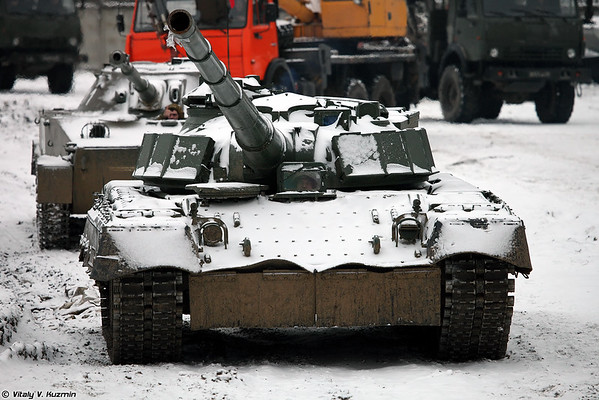 PT-76 and Object 292