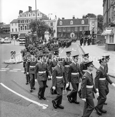 Battle of Britain Parade, Sep 14th 1968