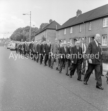 Bucks Battalion Old Comrades Parade, Sep 21st1968
