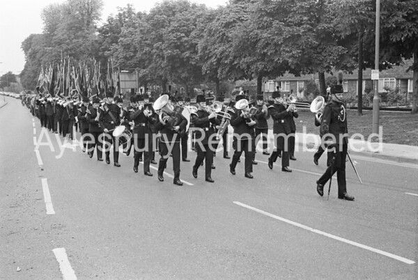 Burma Star Parade, Oct 1978