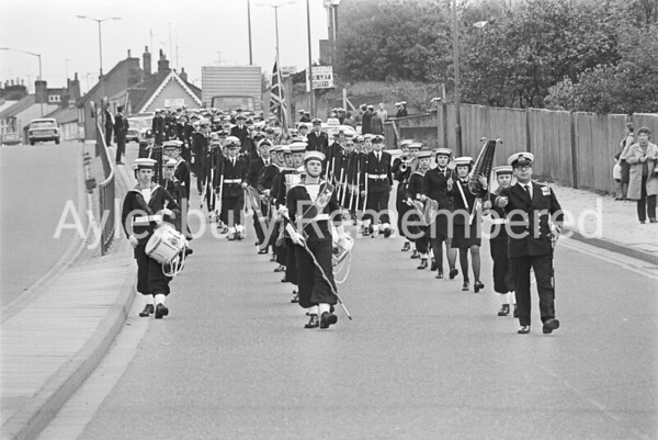 Sea Cadets Parade, Oct 1976
