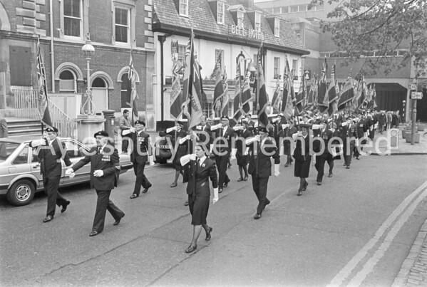 British Legion VE Day Parade, May 1985
