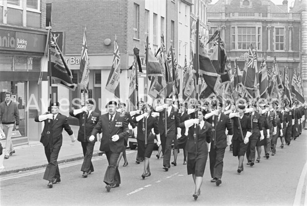 British Legion VE Day Parade, May 1985